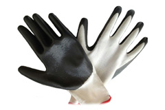 nitril coated gloves