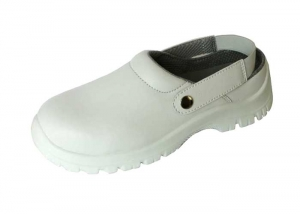 White nurse clogs