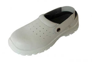 white nursing clogs