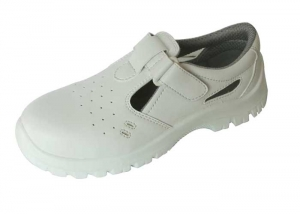 White medical clogs
