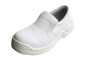 white leather nurse shoes