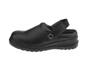 Black chef clogs