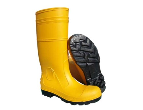 Yellow PVC Safety Boots  ABP1- 6007