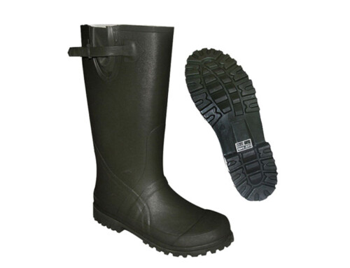 Black Rubber Hunting Boots  ABP1- 7001