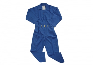 Blue Construction Coverall