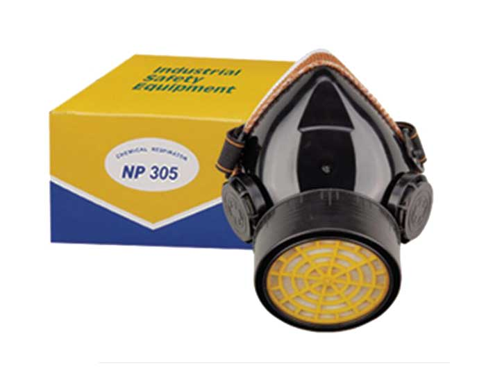 chemical gas respirator