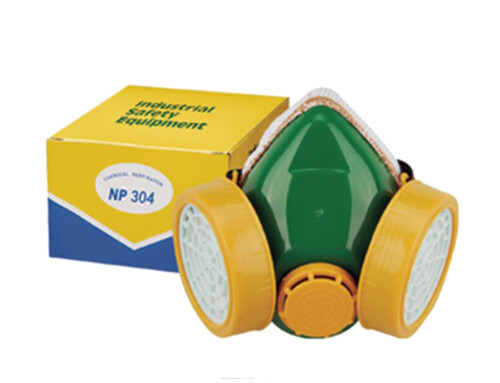 Double-cartridge Dust Mask  GM-04