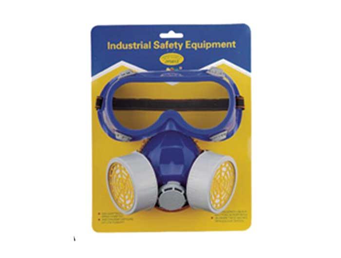 gas mask goggles set