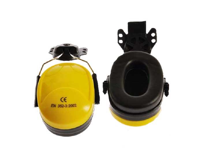 safety helmet earmuff