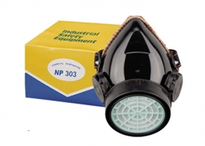 single-filter safety respirator