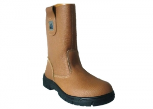 steel toe rigger boots