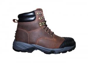 Rubber Sole Work Boots