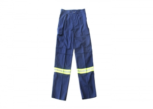 Reflective work pants