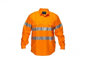 Reflective work shirt