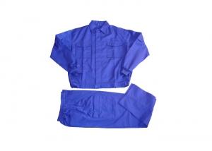 Royal blue work suits
