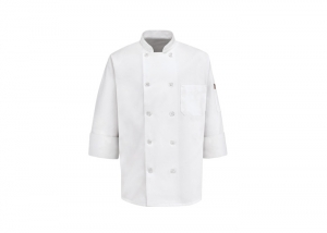 White chef jacket
