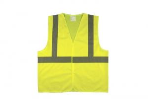 Yellow high vis vest
