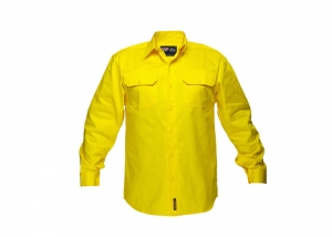 Yellow work shirt