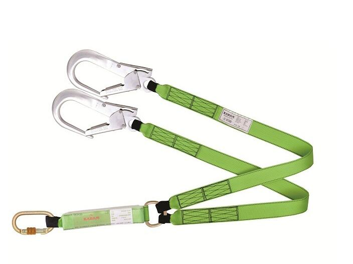 double hook lanyard
