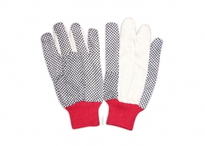 garden dots palm gloves