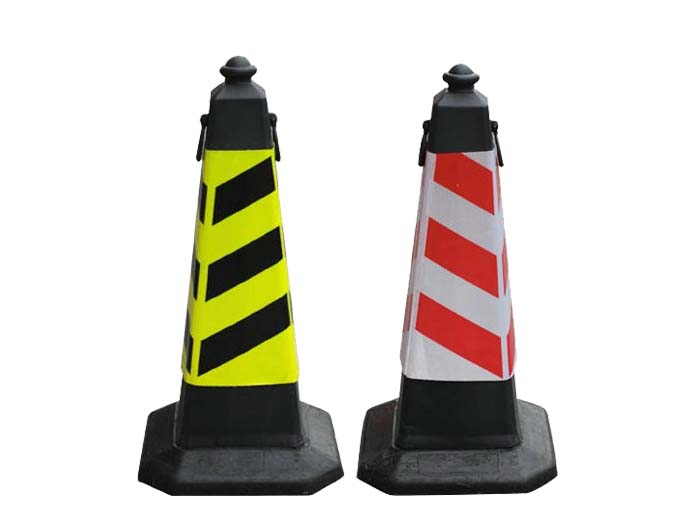 rubber base traffic cone