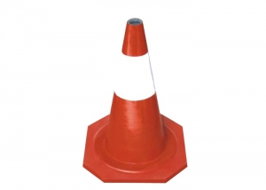 rubber road cone