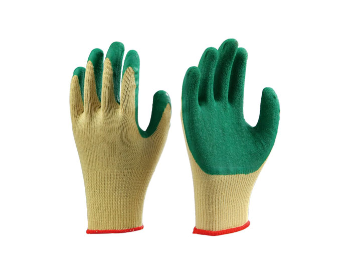 Knitted Latex Coated Gloves