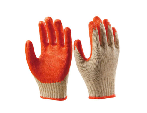 Latex Coated Cotton Gloves  LG-06