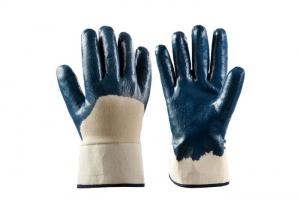 safety nitrile coated gloves