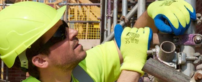 construction worker safe